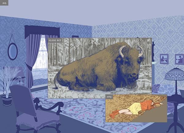 חפצים - עיצוב הבית Richard Mcguire  – *מאייר *מעצב גרפי *אמן קומיקס *אנימטור </br> *כותב ספרי ילדים *מוזיקאי *מעצב צעצועים