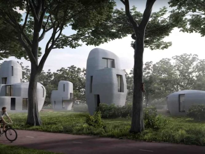 חפצים - עיצוב הבית בתי מגורים מודפסים!?