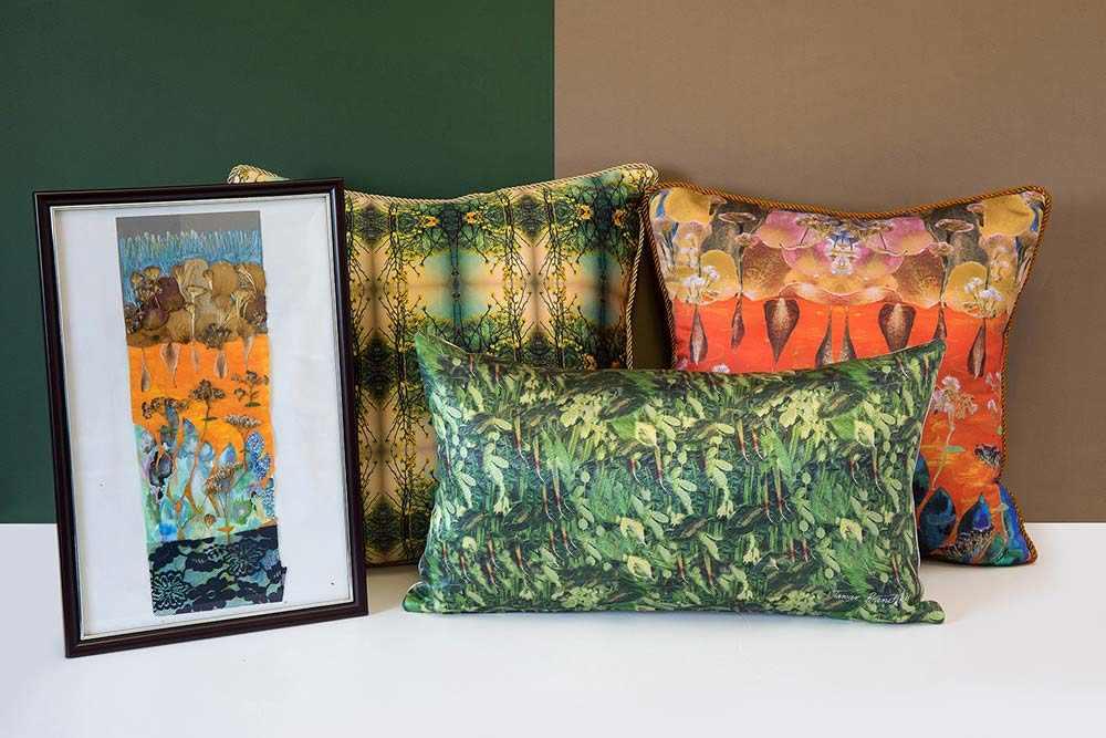 חפצים - עיצוב הבית להתרגש מיצירות הטקסטיל של תמר ברניצקי