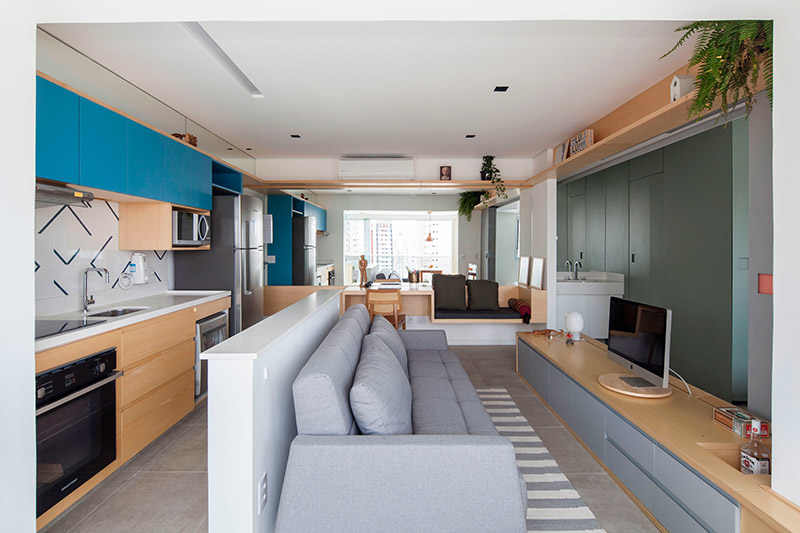 חפצים - עיצוב הבית קומפקט שיק - שלוש דירות קטנות, קומפקטיות ויצירתיות