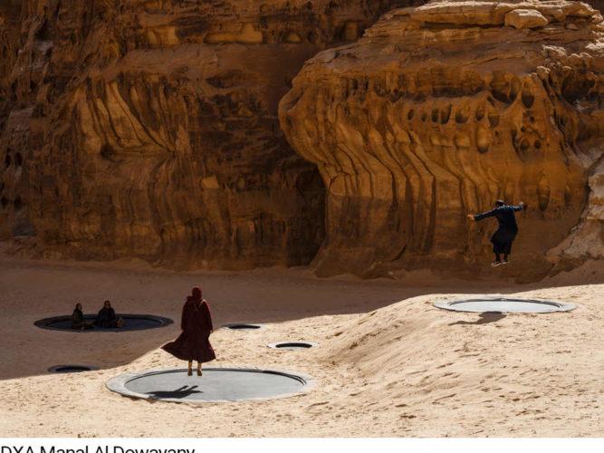 חפצים - עיצוב הבית DESERT X</br>ערב הסעודית – הביאנלה בנווה מדבר</br>מפתיעה את העין ומרתקת את המחשבה
