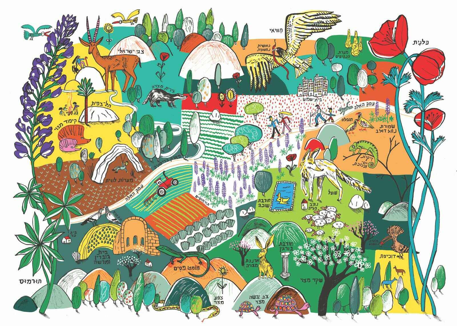 מגזין ''מקו ועד תרבות'' - ''חפצים'' להידבק באהבת הארץ