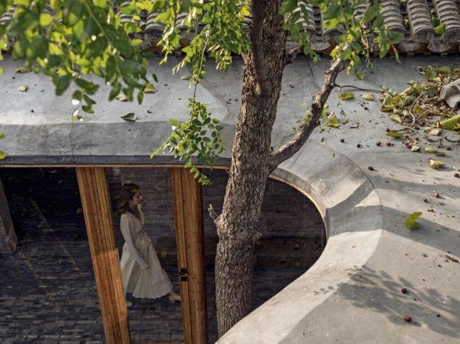 חפצים Quishe Courtyard</br></br>בית בן 7 הגגות ברובע Hutong ב-Beijing