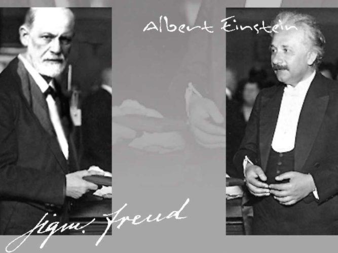 חפצים - עיצוב הבית Dates: 1927 and 1929.<br> Place: Austria.<br>Interviewer: George Sylvester Viereck, a German-born American journalist<br>Interviewees: Sigmund Freud and Albert Einstein.