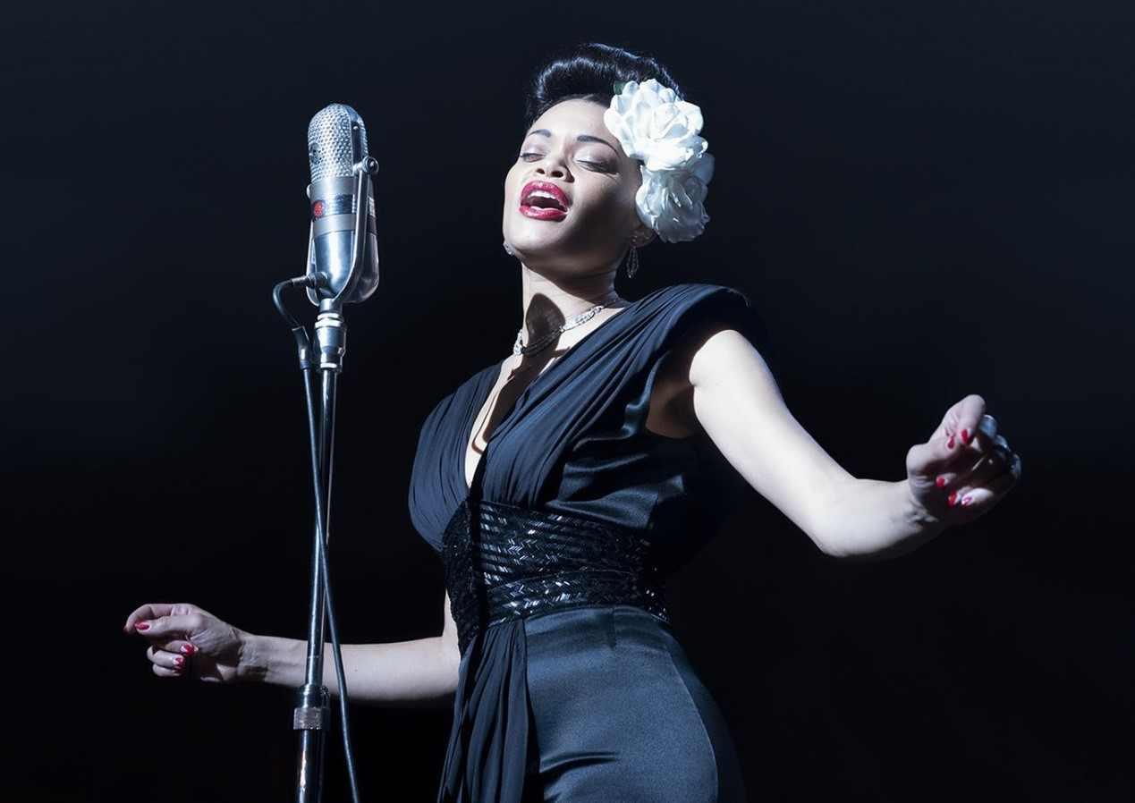 """חפצים """"You're like a hammer. Come back and hit harder,""""<br><br> an associate tells Billie Holiday in the movie<br><br> The United States Vs. Billie Holiday"""