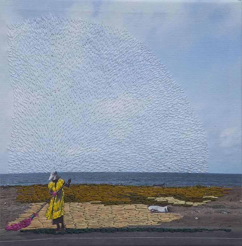 חפצים Embroidering Reality as a Therapeutic Act<br><br>Joana Choumali