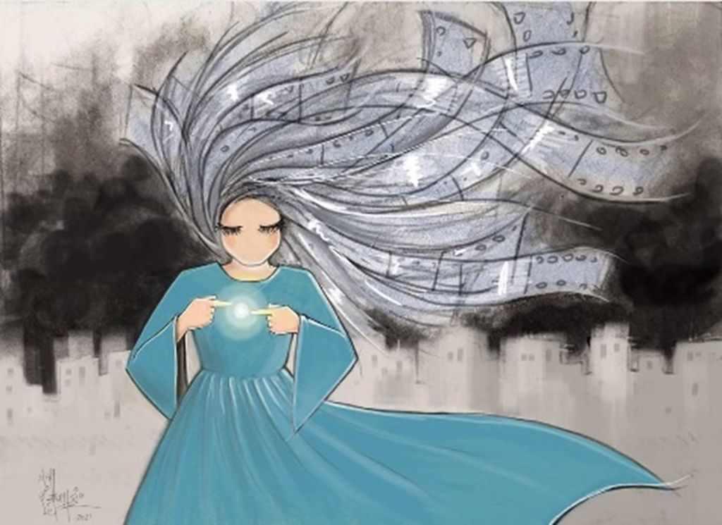 """חפצים """"גרפיטי הוא מלחמה ידידותית""""<br><br> Shamsia Hassani"""